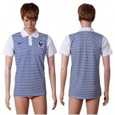 2016 France away polo shirt AAA+ soccer jerseys