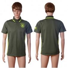 2016 Germany away polo shirt brown AAA+ soccer jerseys