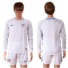 2016 National USA goalkeeper long sleeves soccer jerseys