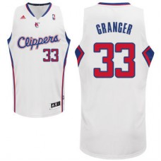 Adidas NBA Los Angeles Clippers 33 Danny Granger New Revolution 30 Swingman Home White Jersey