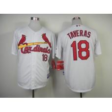 MLB St. Louis Cardinals 18 Taveras White 2014 Jerseys