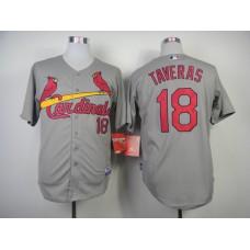 MLB St. Louis Cardinals 18 Taveras Grey 2014 Jerseys