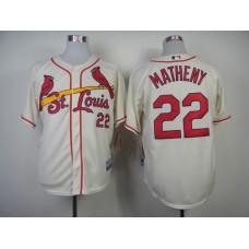 MLB St. Louis Cardinals 22 Matheny Gream 2014 Jerseys