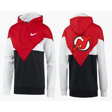 Men New Jersey Devils Pullover Hoodie 0147g