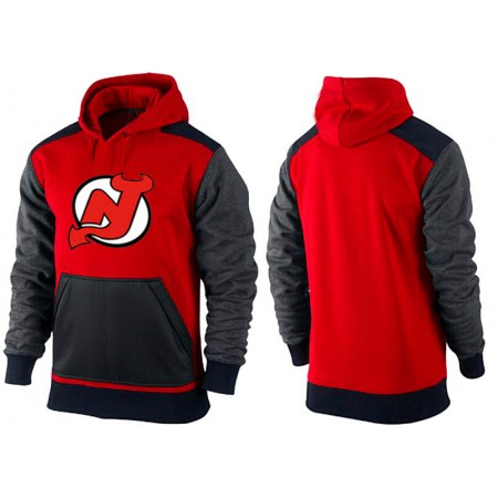 Men New Jersey Devils Pullover Hoodie 0150
