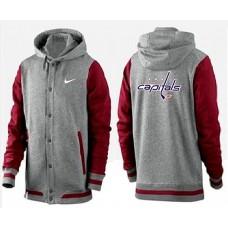 Men Washington Capitals Pullover Hoodie 0145