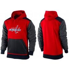 Men Washington Capitals Pullover Hoodie 0151