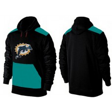 Men Miami Dolphins Pullover Hoodie 1