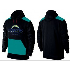 Men San Diego Chargers Pullover Hoodie 3