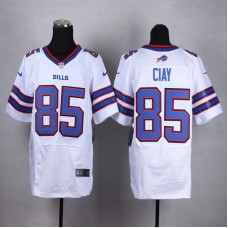 Buffalo Bills 85 Ciay White Men Nike Elite Jerseys