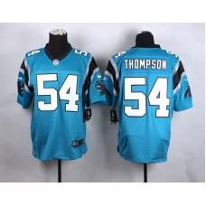 Carolina Panthers 54 Thompson Blue New 2015 Nike Elite Jersey